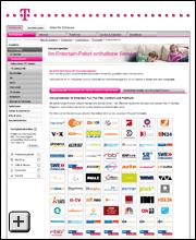 Telekom.De/Senderliste
