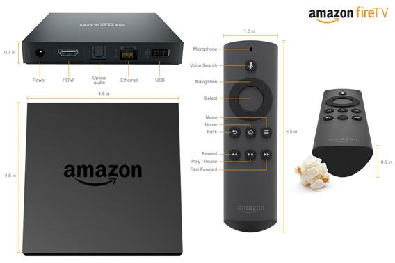 Video Streaming Und Online Games Amazon Veröffentlicht Fire Tv