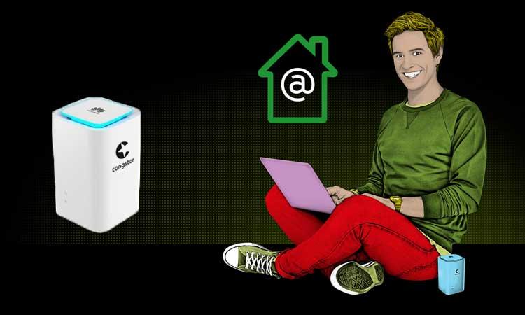 congstar homespot datentarif f rs lte surfen zuhause. Black Bedroom Furniture Sets. Home Design Ideas