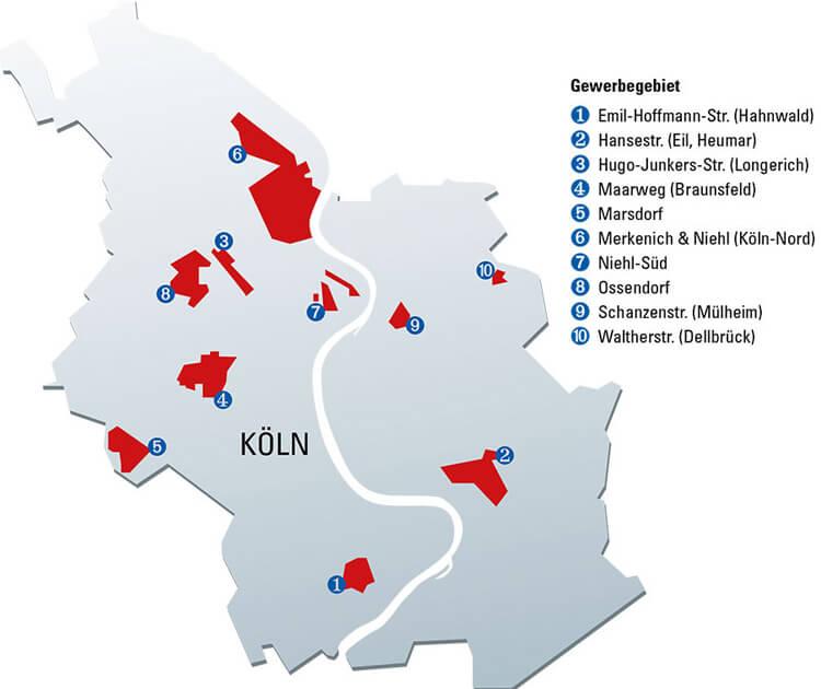 Telekom Glasfaserausbau Karte.Schnelles Internet Für Köln Netcologne Glasfaser Projekte Im überblick