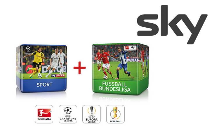 Sky Sport + Bundesliga Angebot