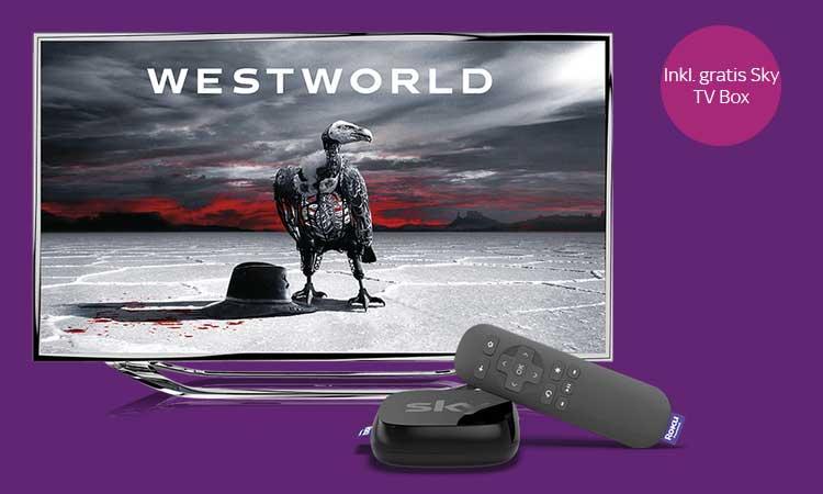 Sky Ticket Westworld