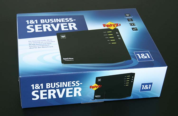 1&1 Homeserver Speed