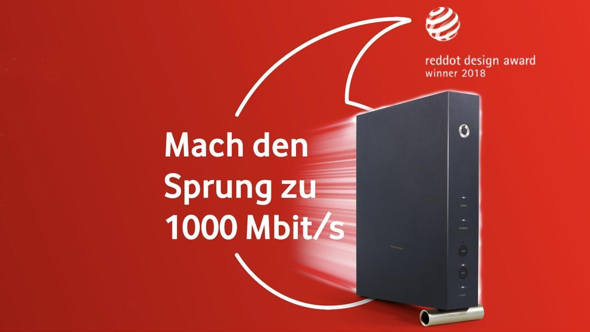 Gigabit Internet für 39,99 €: Vodafone startet neues CableMax 1000 Angebot
