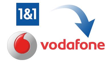 Anbieterwechsel von 1&1 zu Vodafone