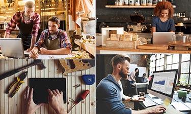 Teaser Übersicht Business Internet