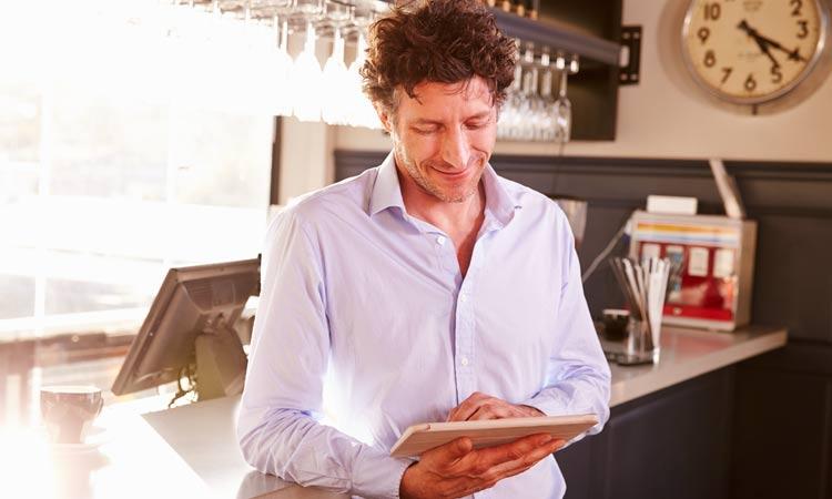 Internetanschluss im Restaurant