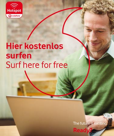 Vodafone WLAN Hotspot Business