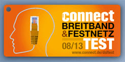Connect Breitband Netz Test 2013