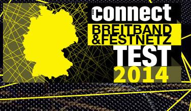 Connect Breitband & Festnetz Test 2014