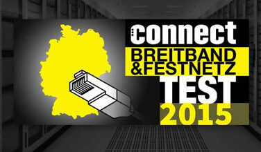Connect Breitband Test 2015 Logo