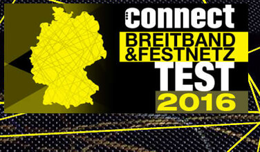 Connect Breitband Test 2016
