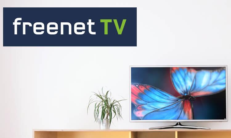 Freenet TV Logo mit Fernseher