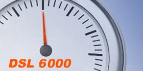 DSL 6000 Anschluss im Speedtest