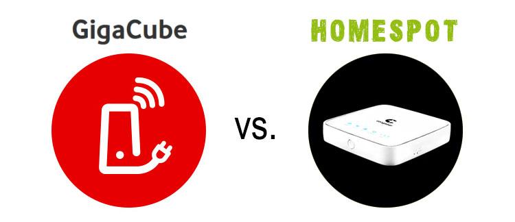 Vodafone GigaCube vs. Congstar Homespot im Vergleich