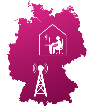 Karte Telekom LTE Verfügbarkeit