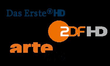 öffentlich-rechtliche HD Sender - Das Erste HD, ZDF HD, Arte HD