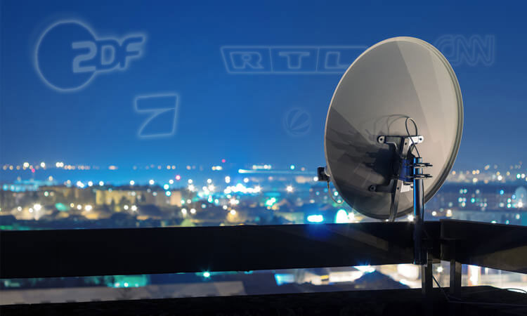 Sat TV Sender