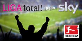 Sky Bundesliga gegen Liga Total