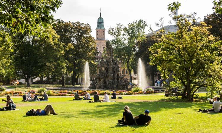 DSL in Erlangen - auch im historischen Schlossgarten