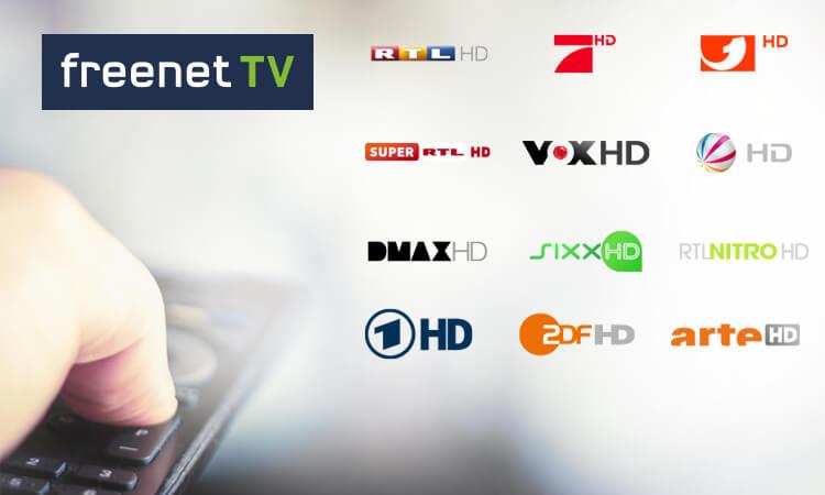 Teaser Infos zu Freenet TV über DVB-T2