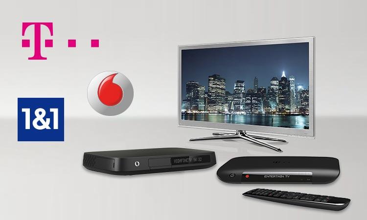 Telekom Entertain und Vodafone TV im Vergleich
