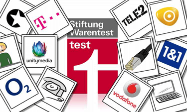 Stiftung Warentest: Internet Serviceprovider im Test