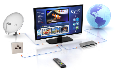 Typen TV-Receiver (Schema)