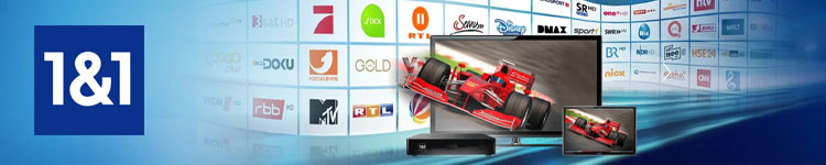 1&1 Digital-TV kostenlos zu 1&1 DSL