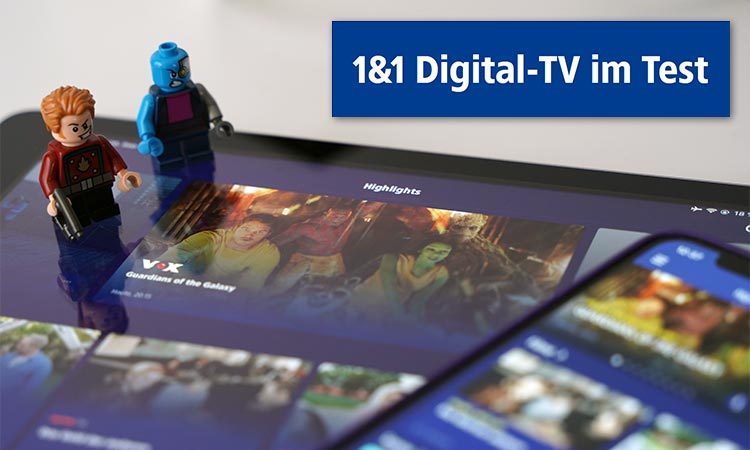 1&1 Digital-TV im Paxistest