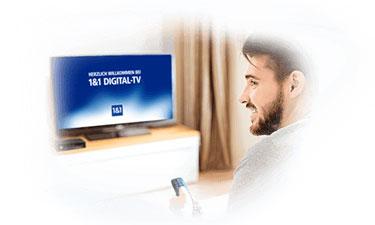 Pay-TV Programmpakete bei 1&1 Digital-TV