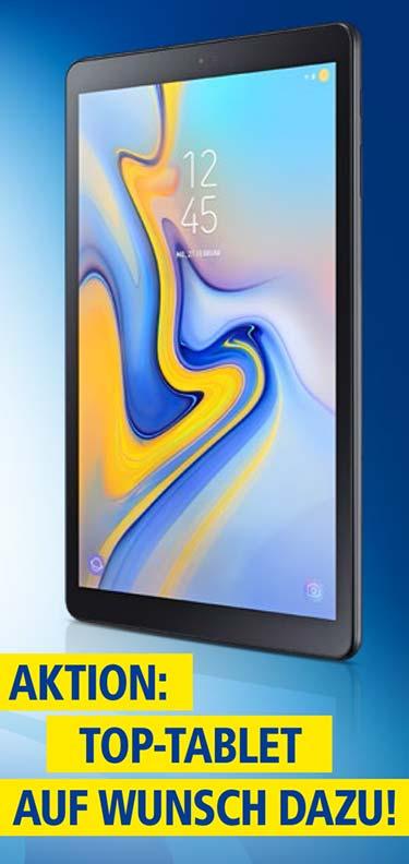 1&1 DSL: Galaxy Tab A 10.5 gratis