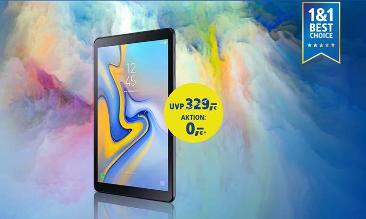 1&1 Vorteils-Aktion: Samsung Galaxy Tab 10.5
