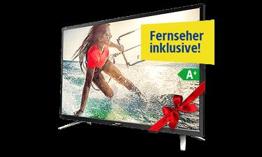 1&1 DSL mit kostenlosem Sharp Full-HD TV