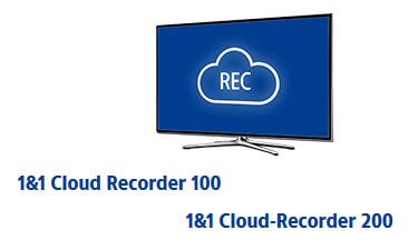 1&1 TV - Cloud-Speichern erweitern