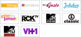 Sender 1&1 TV Musik und Lifestyle