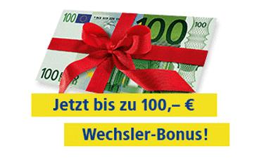 Bis zu 100 Euro Bonus bei Rufnummermitnahme
