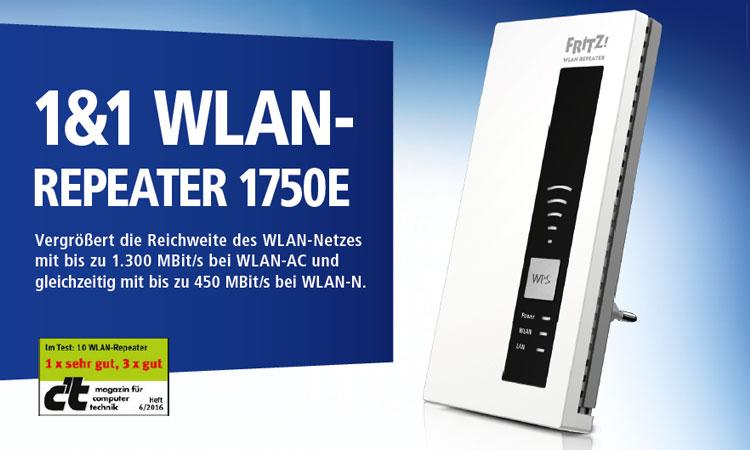 1&1 WLAN Repeater 1750E
