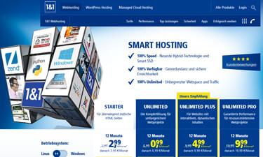 1 1 webhosting do it yourself homepage domains hosting server im test. Black Bedroom Furniture Sets. Home Design Ideas