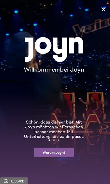 Joy Einstieg Seite 1