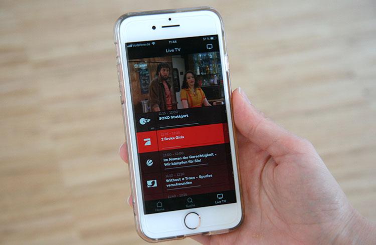 Joyn Smartphone Senderauswahl