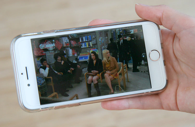 Joyn Smartphone Vollbild