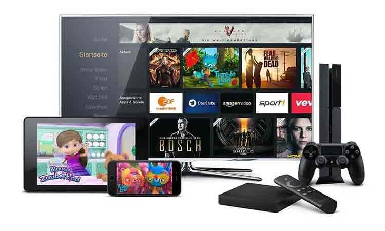 Geräte für Amazon Video