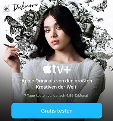 Apple TV+ gratis testen