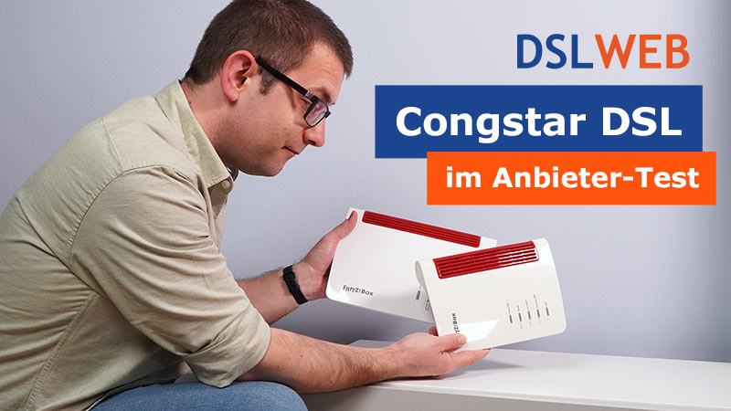 Congstar DSL im Test