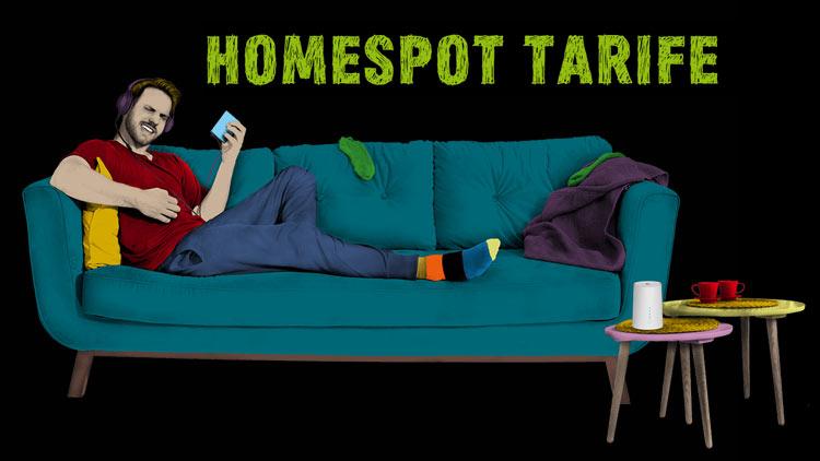 congstar Homespot Tarife