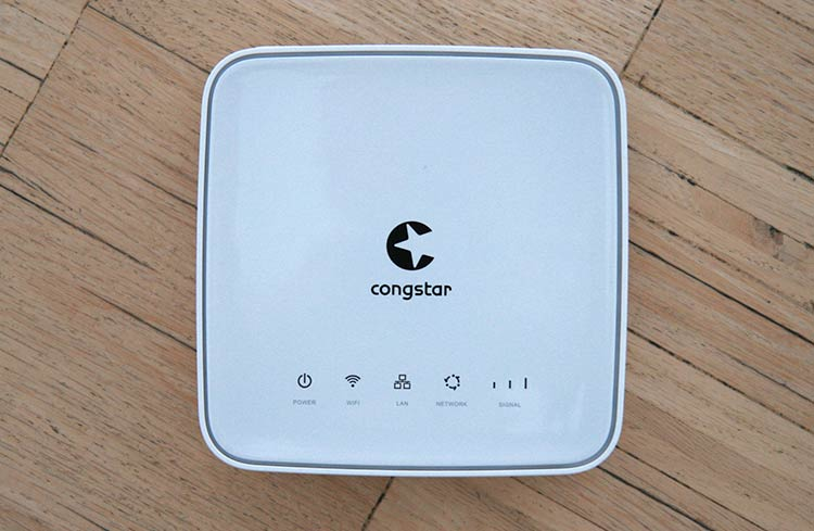 congstar Homespot WLAN Router - Frontansicht
