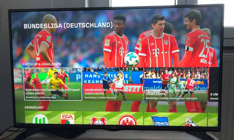 Bundesliga Highlights bei DAZN
