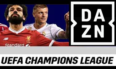 DAZN Champions League Teaser