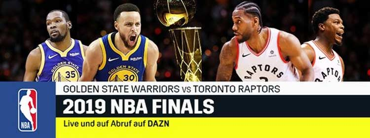 NBA Finals bei DAZN